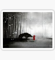 Little Red Riding Hood ~ The Fisrt Touch  Sticker