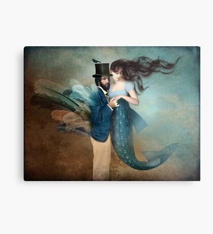 A Mermaids Love Metal Print