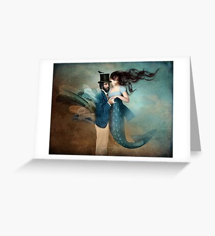A Mermaids Love Greeting Card