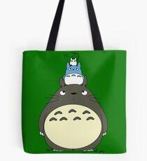 Totoro Pyramid Tote Bag