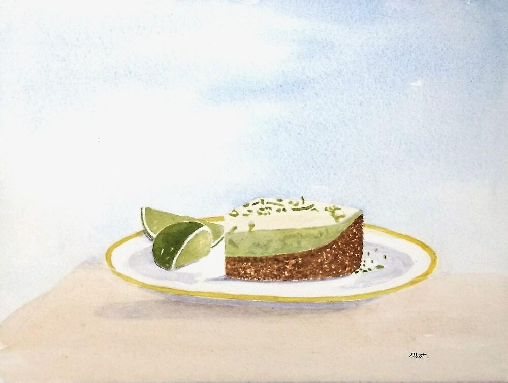 Key Lime Pie at Seans by Pat  Elliott
