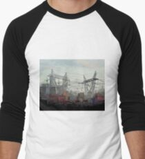 CITY Men's Baseball ¾ T-Shirt