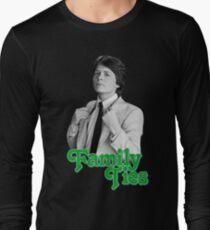 Michael J Fox - Family Ties Long Sleeve T-Shirt