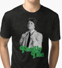 Michael J Fox - Family Ties Tri-blend T-Shirt