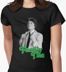 Michael J Fox - Family Ties Women's Fitted T-Shirt