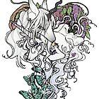Unicorn Family by Inkscribble