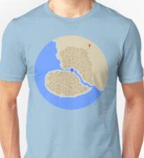Broken Heart City Unisex T-Shirt