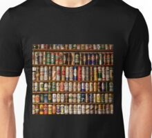 BEERS ON SHELVES Unisex T-Shirt