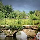 Bridge on The River Coln by wallarooimages