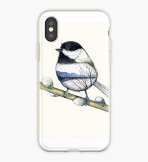 oiseau paysage iPhone Case