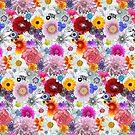 Beautiful Flowers Concoction Pattern by Faye Maguire