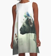HQ The Last Guardian (vector) A-Line Dress