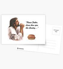 Jesus Chick-fil-a Postcards