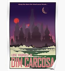 'Lose Yourself in Carcosa' Travel Poster Poster