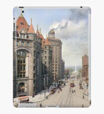 Niagara Street, Buffalo, 1908 iPad Case/Skin
