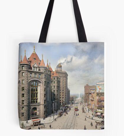 Niagara Street, Buffalo, 1908 Tote Bag