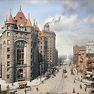 Niagara Street, Buffalo, 1908 by Sanna Dullaway
