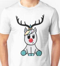 Reindeer (totally not a unicorn!) Unisex T-Shirt