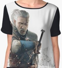HQ The Witcher (vector) Chiffon Top