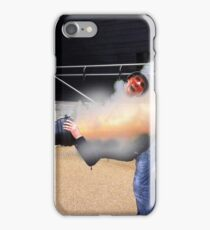 I'm ok , it's just a flesh wound ! iPhone Case/Skin