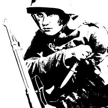 Deutscher Soldat 2 Black by Cyberpanzer