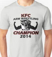 KFC Arm Wrestling Champion Design: Colt Cabana Unisex T-Shirt