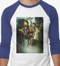 Bumblebee Men's Baseball ¾ T-Shirt