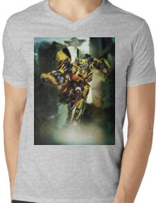 Bumblebee Mens V-Neck T-Shirt