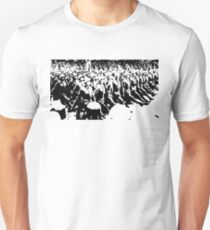 German Soldiers Marching Unisex T-Shirt