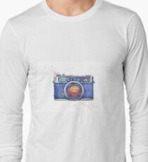 Watercolor vintage photo camera T-Shirt