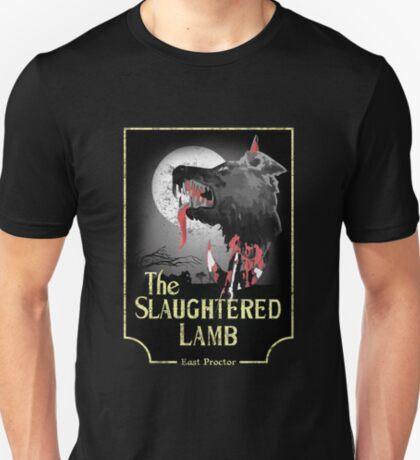 Amerikanischer Werwolf in London - Distressed gelbe Variante T-Shirt