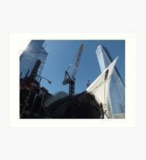 The New World Trade Center Transit Hub, New World Trade Center,Lower Manhattan, New York City  Art Print