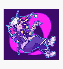 TEAM SKULL BOSS GUZMA Photographic Print