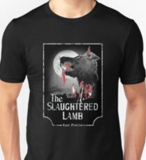 American Werewolf In London - Distressed White Variant Unisex T-Shirt