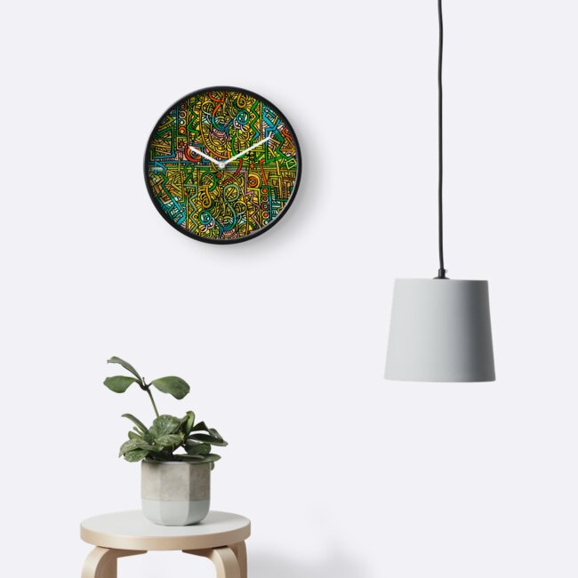 Psychedelic Time von Theo Kerp