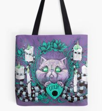 A Seance With Madame Meow-Meow, Gifted Medium Tote Bag