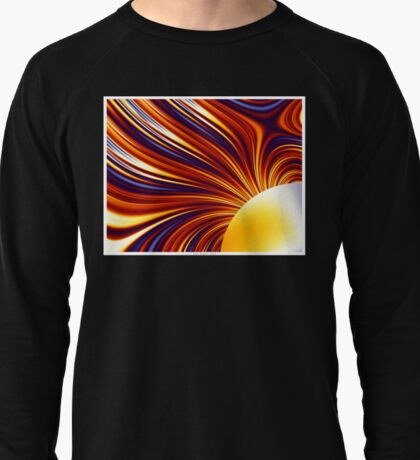 Color & Form Abstract - Solar Gravity and Magnetism 1 Lightweight Sweatshirt