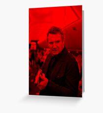 Liam Neeson - Celebrity Greeting Card