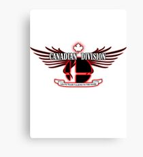 Super Smash Bros. Canadian Division Canvas Print