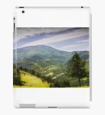 Valley mountain iPad Case/Skin