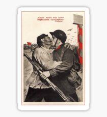 Soviet Propaganda - Liberation of the Whole Earth (1939) Sticker