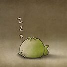 Sleeping Cat by IanJTurner