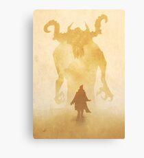 The summoning Canvas Print