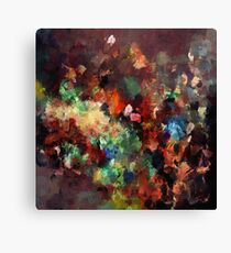 Colorful Contemporary Abstract Painting Canvas Print
