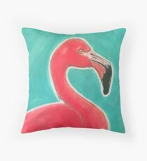 Payton's Flamingo  Throw Pillow