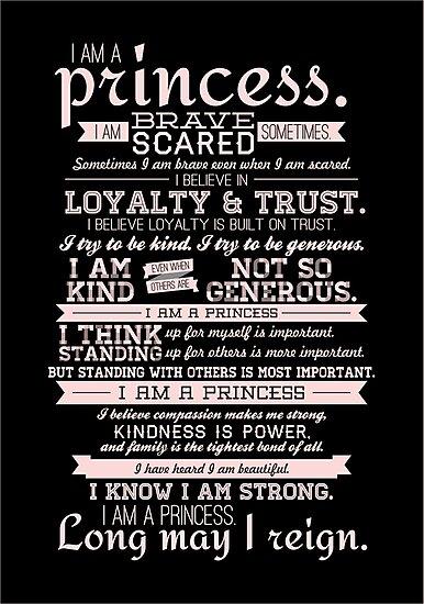 I Am a Princess (version 2) by certainasthesun