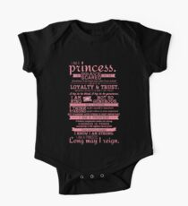 I Am a Princess (version 2) Kids Clothes