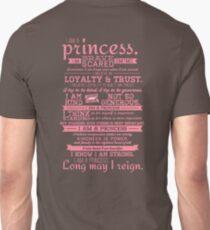 I Am a Princess (version 2) Unisex T-Shirt