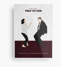 Pulp Fiction 2 Metal Print