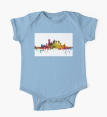 Pittsburgh Pennsylvania Skyline One Piece - Short Sleeve